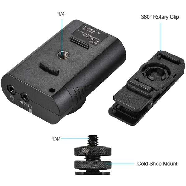 Boya BY WM4 Wireless Microphone Black