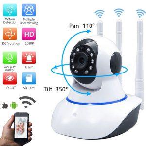 IP Wireless Camera 360 With 3 Antenna