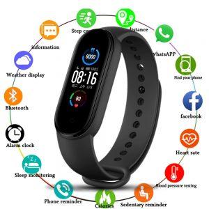 M5 Band Sport Wristband Blood Pressure