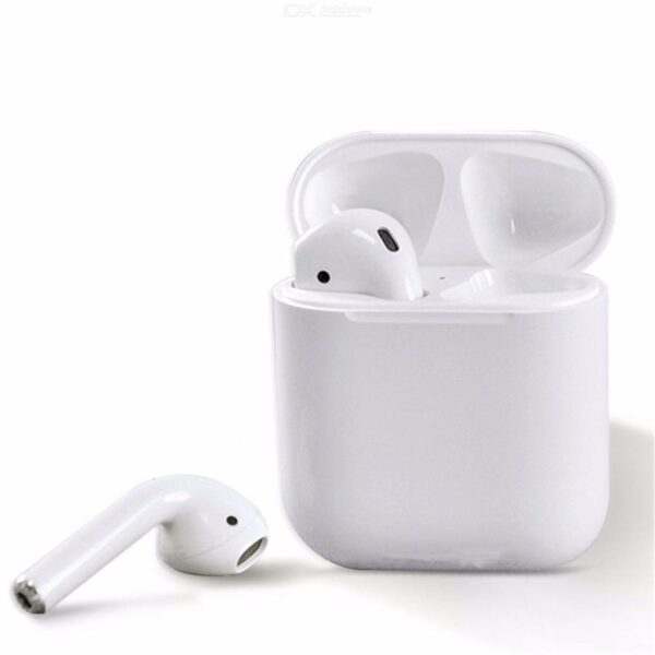 TWIN i12 With Case Sensors Touch Wireless Earphone