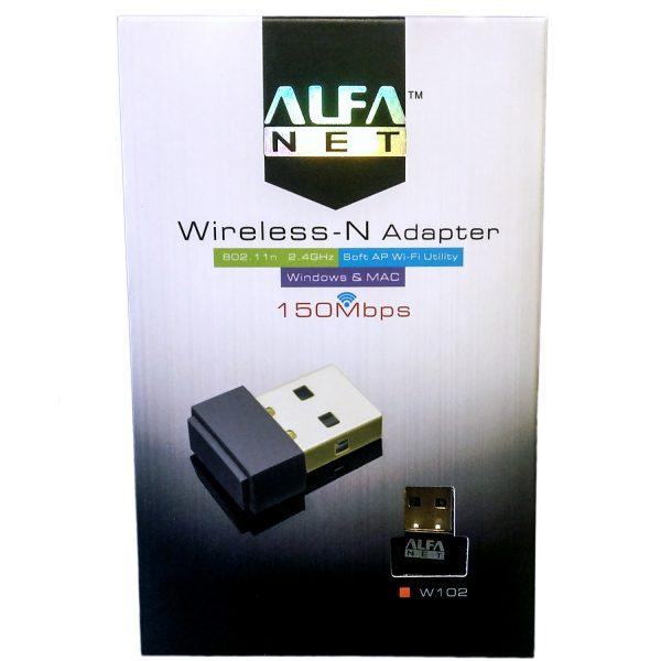 W102 Alfa Wireless N Adapter