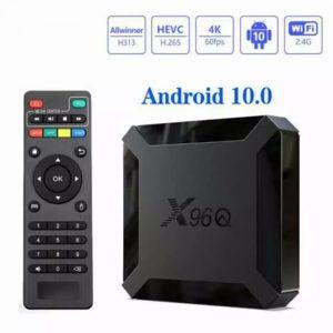 smart tv box android x96q mini quad core