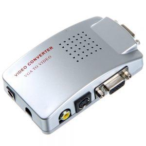 Vga To Audio Video Conversion Box